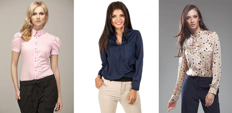 Jak nosić koszule i bluzki? Rodzaje dekoltów i kołnierzyków
