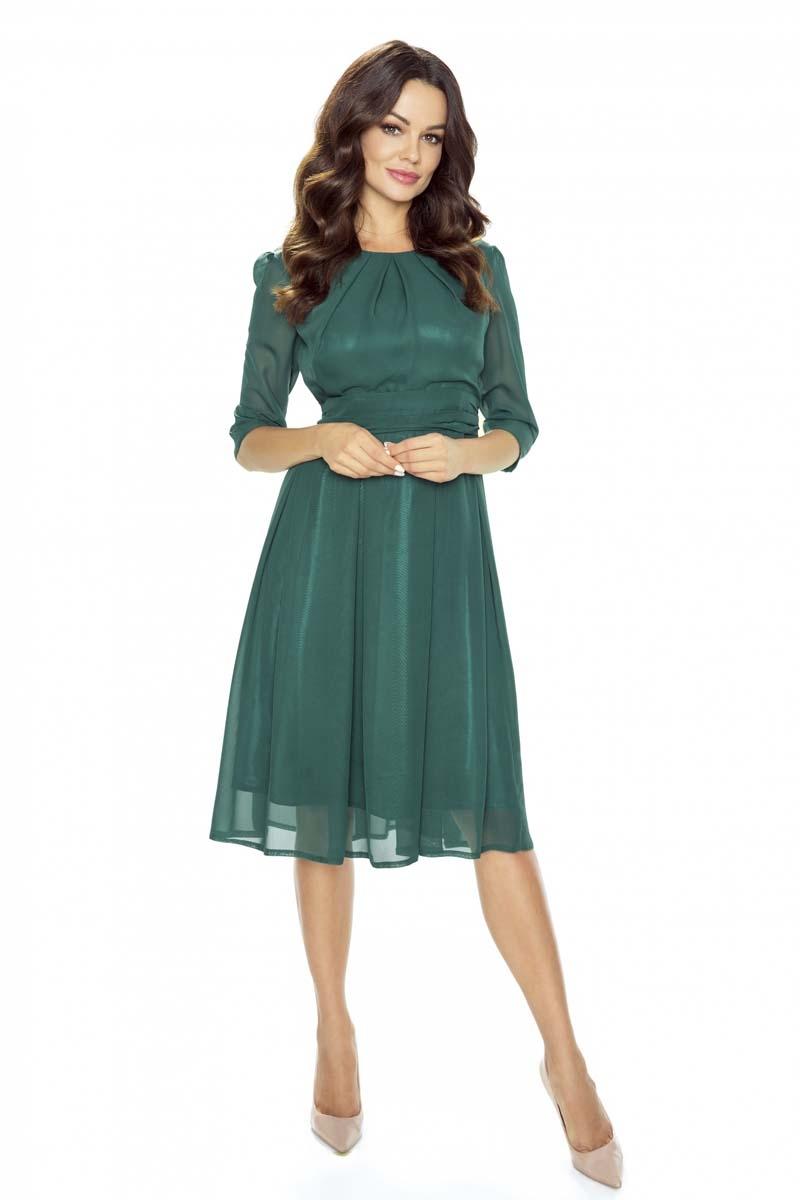 ac2d616bd7 ... rozkloszowana czerwona sukienka · zielona sukienka rozkloszowana