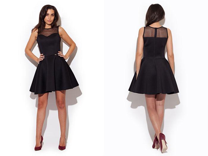 dc58e38e5 Sukienka rozkloszowana na trzy sposoby?