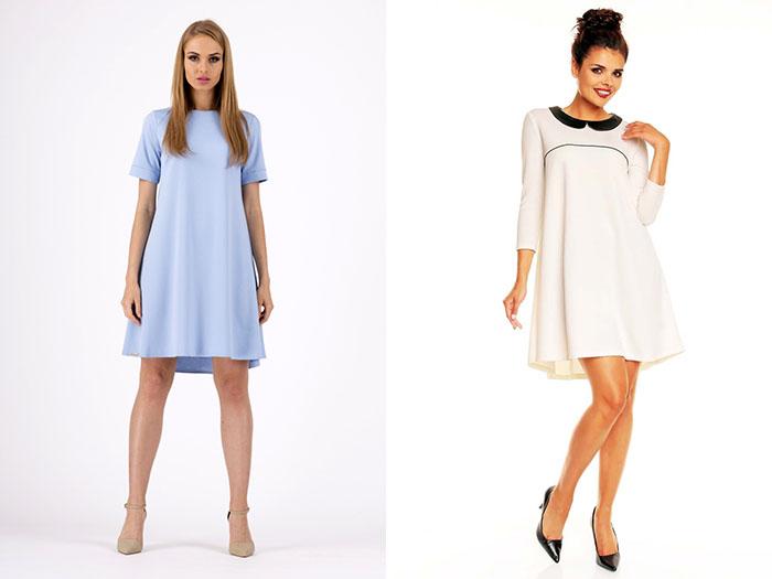 59244ea34e Trapezowa sukienka w roli głównej. 3 pomysły na stylizacje ...