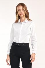 Klasyczna Biała Koszula z Bawełną