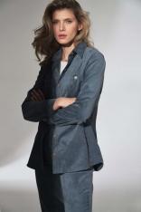Klasyczna Koszula Damska  - Niebieska
