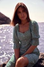 Sukienka w Stylu Retro na Guziki - Model 1