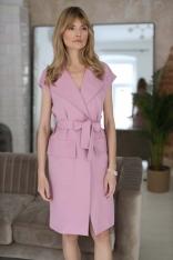 Sukienka do Samodzielnego Wiązania - Różowa