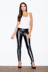 Spodnie ze Zwężanymi Nogawkami- Czarne