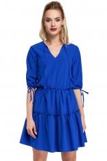 Chabrowa Sukienka w Stylu Boho