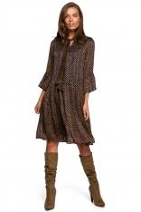 Sukienka z Falbankami w Kropki - Model 3