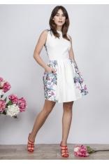 Sukienka Typu Princeska w Kwiaty