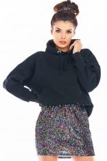 Spódniczka Mini na Gumce z Cekinami - Kolorowa
