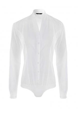 Elegancka Koszula - Body z Dekoltem V