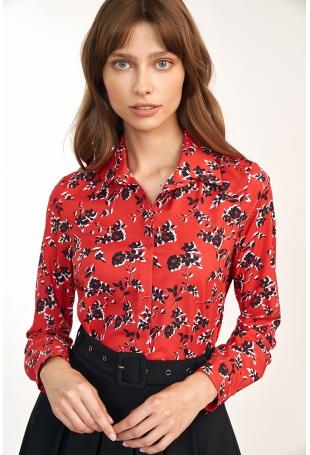 Koszula Damska w Kwiatki