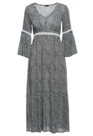 Sukienka Maxi w Stylu Boho - Model 2