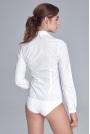 Biała Klasyczna Koszula -Body