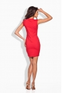 Czerwona Sukienka z Kopertową Górą