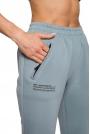 Dresowe Spodnie z Zasuwanymi Kieszeniami - Agawa