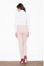 Elegancka Biała Koszula z Różową Kokardą