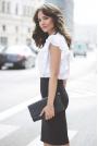 Biała Koszulowa Bluzka z Falbankowym Rękawem