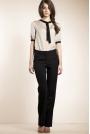 Czarne Klasyczne Eleganckie Spodnie